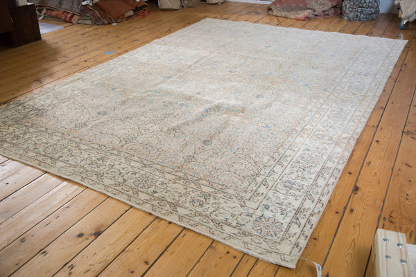 Distressed Oushak Carpet / Item ee001657 image 8