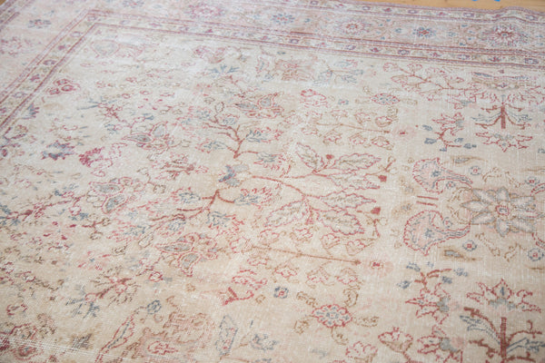 Distressed Oushak Carpet / Item ee001658 image 2