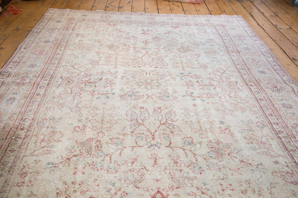 Distressed Oushak Carpet / Item ee001658 image 3