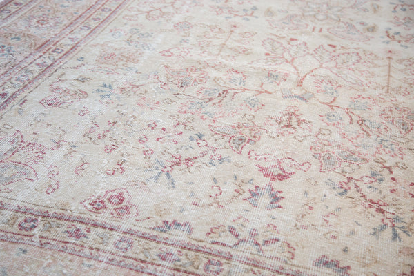 Distressed Oushak Carpet / Item ee001658 image 6