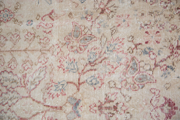 Distressed Oushak Carpet / Item ee001658 image 8