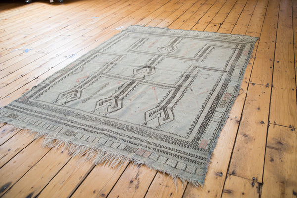 4.5x6 Distressed Jijim Rug - Old New House