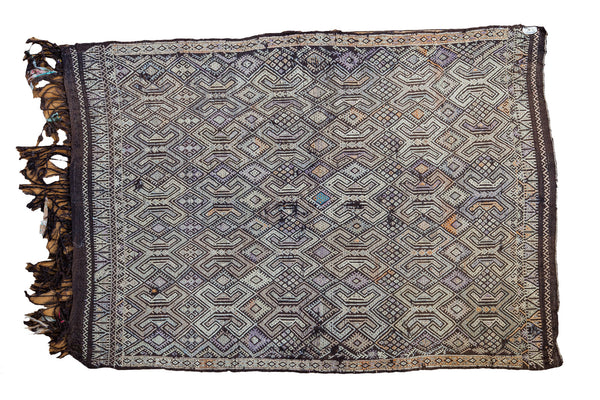 4x6 Distressed Jijim Rug - Old New House