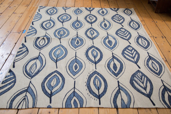 4.5x6 New Kilim Rug - Old New House