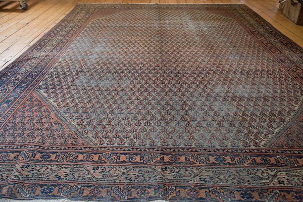 8x11.5 Distressed Mir Serbend Carpet - Old New House