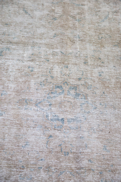 5.5x6 Distressed Tabriz Rug - Old New House