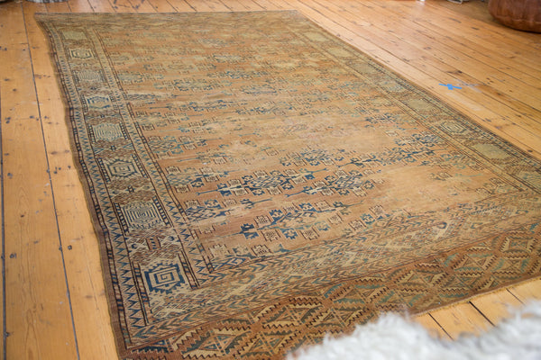 6x9.5 Antique Yomud Carpet - Old New House