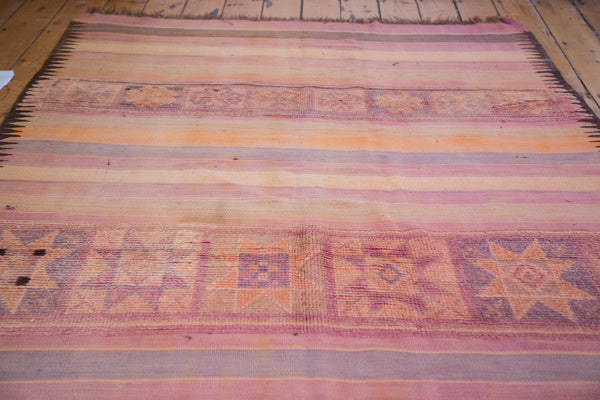 5x9.5 Vintage Kilim Carpet - Old New House