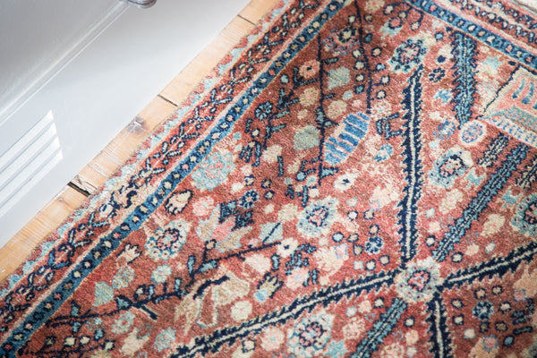 2x2.5 Vintage Bidjar Rug Mat - Old New House
