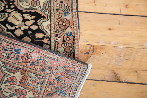 2x3 Vintage Sarouk Rug Mat - Old New House