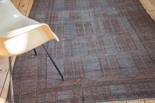 5.5x8.5 Distressed Belouch Carpet - Old New House
