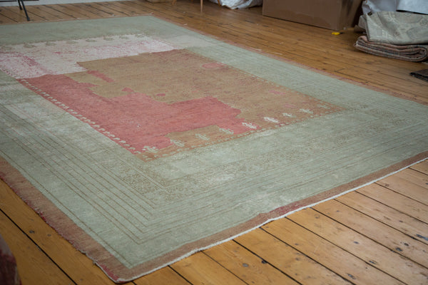 9x12 Distressed Ghiordes Carpet - Old New House