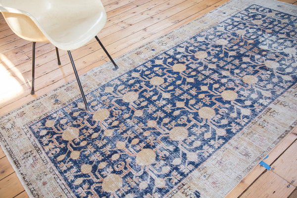 4x9 Distressed Khotan Runner - Old New House