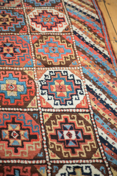 4.5x10.5 Vintage Kurdish Runner - Old New House
