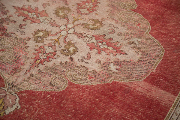 4.5x7 Distressed Oushak Rug - Old New House