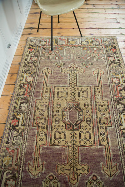 3.5x7 Distressed Oushak Runner - Old New House