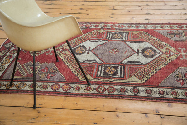 4x12.5 Distressed Oushak Rug Runner - Old New House