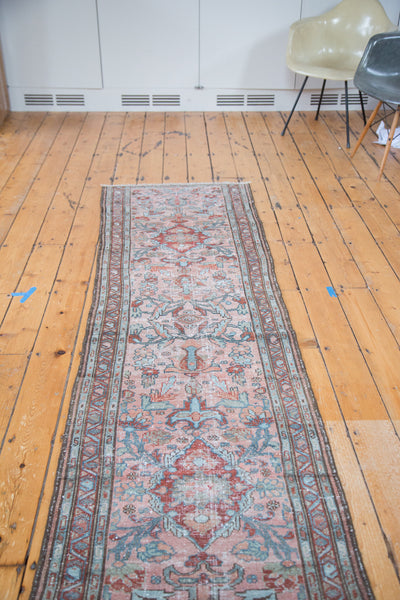 2.5x9.5 Distressed Lilihan Runner - Old New House