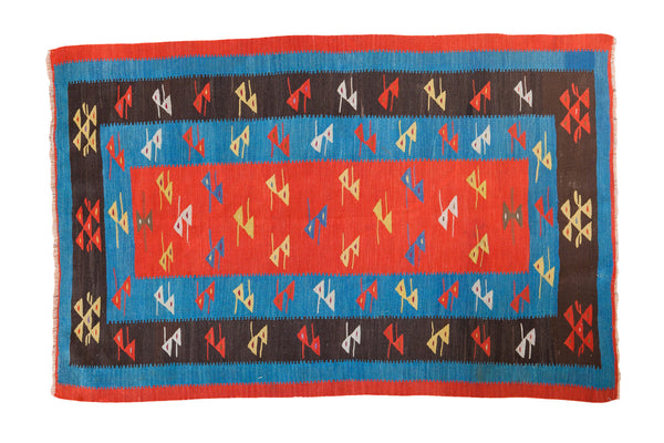 3x5 Vintage Kilim Rug - Old New House