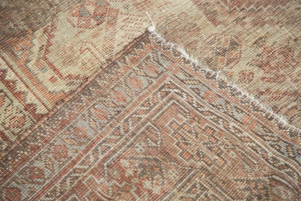 7x9.5 Distressed Shiraz Carpet - Old New House