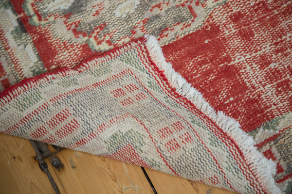 3x12 Distressed Oushak Rug Runner - Old New House