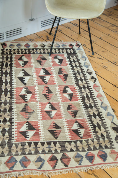 3x5 Distressed Kilim Rug - Old New House