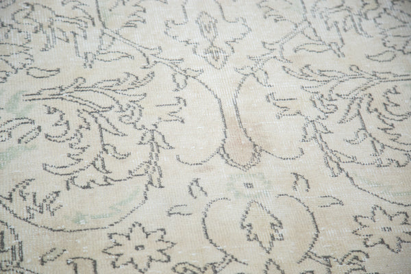 6x10 Distressed Oushak Carpet - Old New House