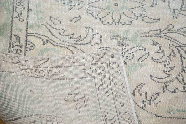 Distressed Oushak Carpet / Item ee001804 image 6
