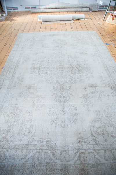 6.5x9.5 Vintage Oushak Carpet - Old New House