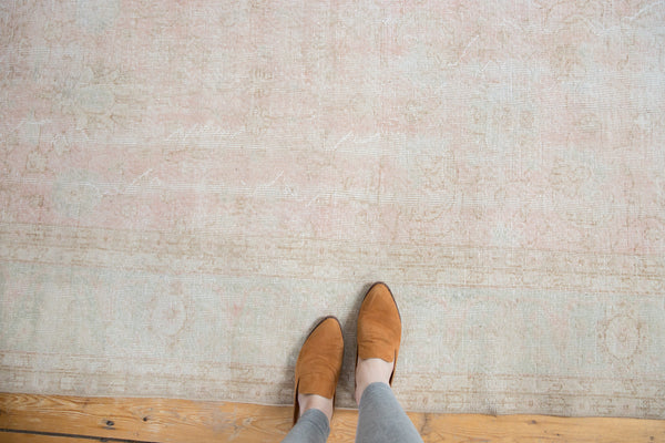 Distressed Oushak Carpet / Item ee001807 image 2