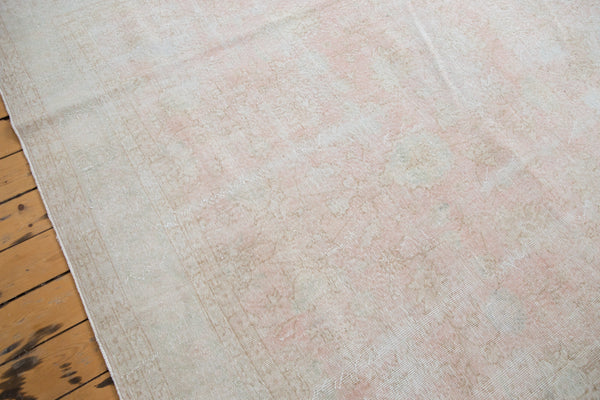 Distressed Oushak Carpet / Item ee001807 image 3