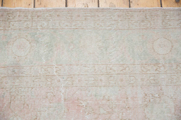 Distressed Oushak Carpet / Item ee001807 image 9