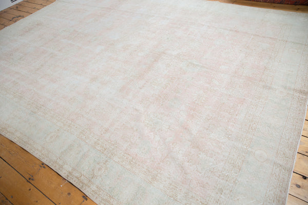 Distressed Oushak Carpet / Item ee001807 image 10