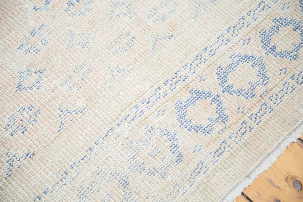 8x11.5 Distressed Oushak Carpet - Old New House