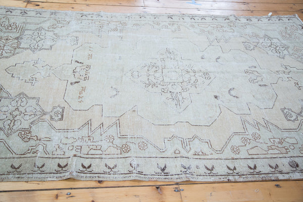 4.5x7.5 Distressed Oushak Rug - Old New House