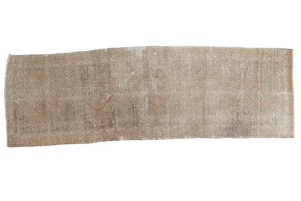 4x12 Distressed Oushak Rug Runner - Old New House
