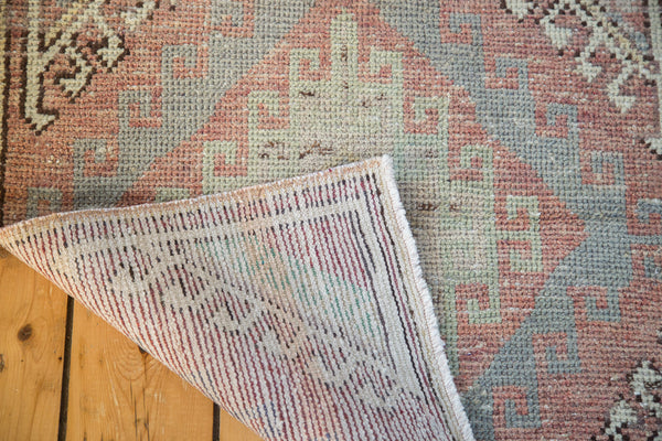 2.5x7.5 Distressed Oushak Runner - Old New House
