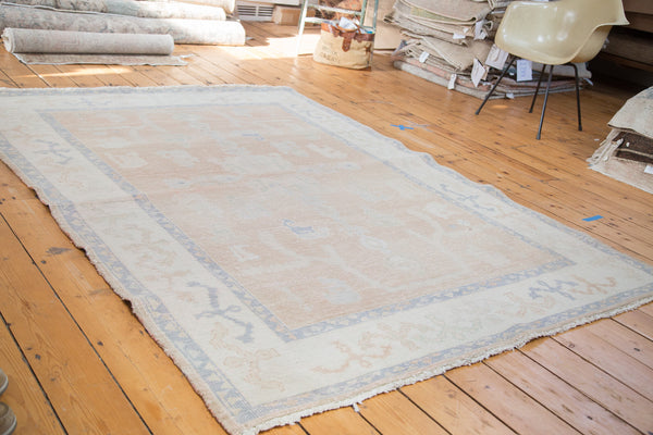 Distressed Oushak Carpet / Item ee001828 image 5