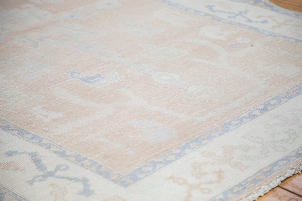 Distressed Oushak Carpet / Item ee001828 image 6