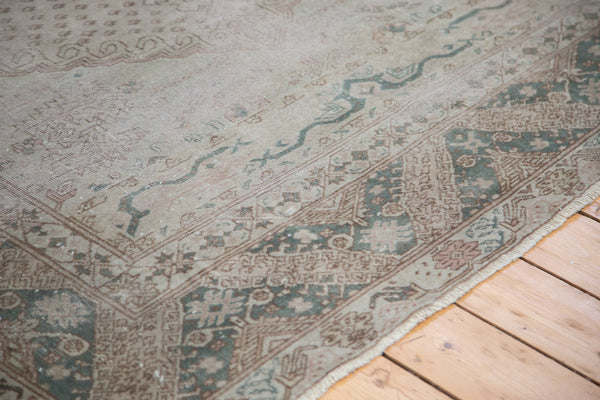 6x7.5 Distressed Oushak Carpet - Old New House