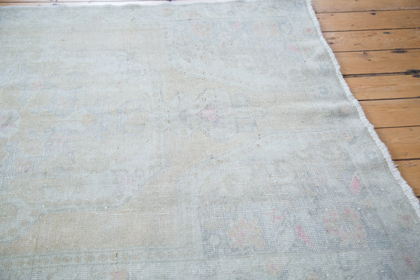 RESERVED 4.5x7 Distressed Oushak Rug - Old New House