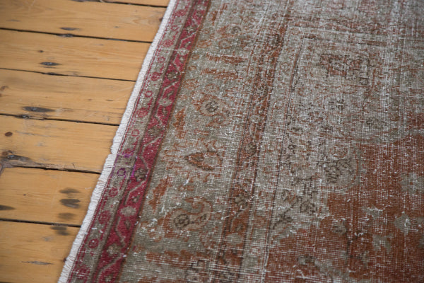 Distressed Oushak Carpet / Item ee001836 image 4