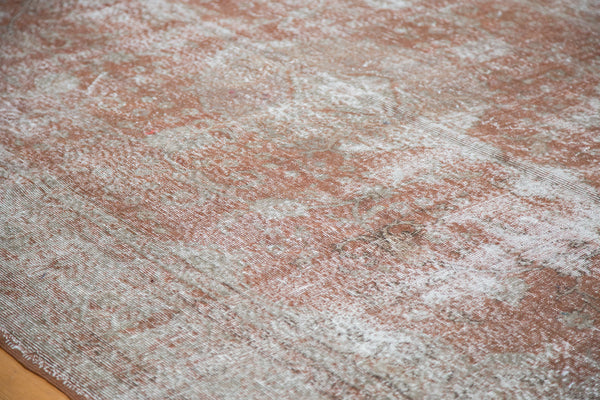 Distressed Oushak Carpet / Item ee001836 image 7