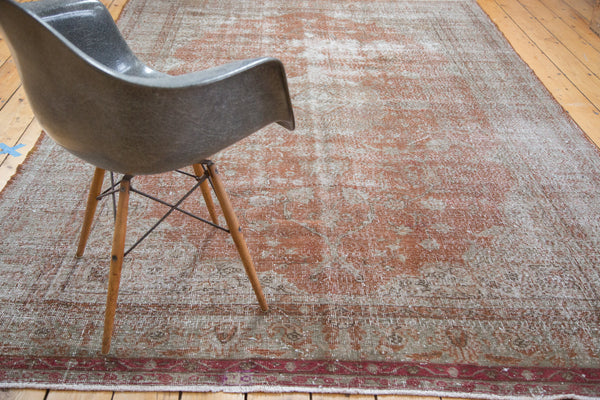 Distressed Oushak Carpet / Item ee001836 image 9