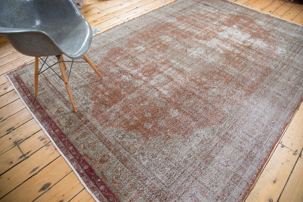 Distressed Oushak Carpet / Item ee001836 image 10