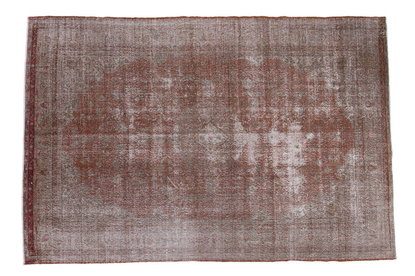 6.5x10 Distressed Oushak Carpet - Old New House