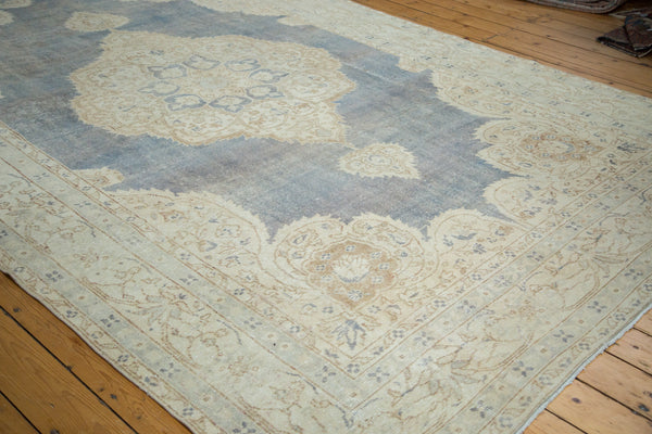 8x12.5 Distressed Oushak Carpet - Old New House