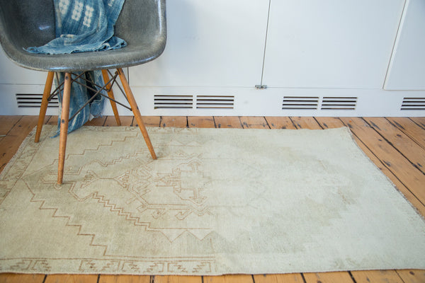3x5 Distressed Oushak Rug - Old New House