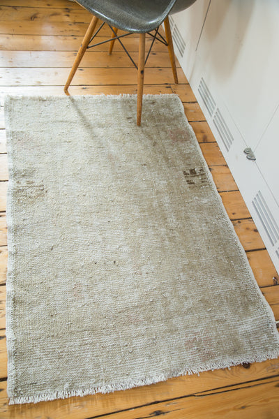 2.5x4 Distressed Oushak Rug - Old New House