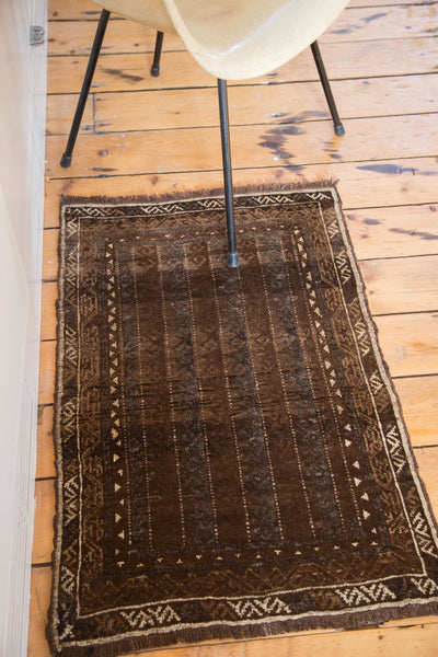 2x3 Vintage Belouch Rug - Old New House